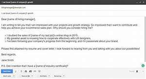 Emailing a Resume Sample and plete Guide [12+ Examples]