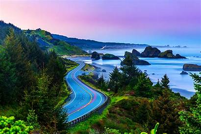 Oregon Coast Usa Pacific Alaska Psychologist Highway