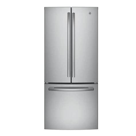 GE 30 in W 208 cu ft French Door Refrigerator in