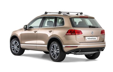 volkswagen touareg adventure edition announced
