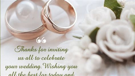 Wedding Wishes, Messages, Sayings And Blessings