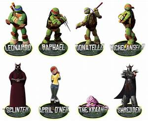 Cartoon Ninja Turtle Names Cartoonankaperlacom