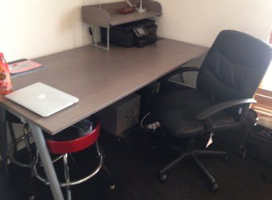 ikea galant desk for sale ikea galant large office desk with chair for sale in