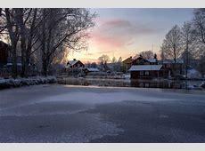 A escuridão do inverno na Suécia BrasileirasPeloMundocom
