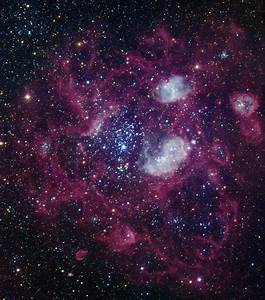 NGC 1760, a large emission nebula in the Large Magellanic Cloud | Anne's Astronomy News