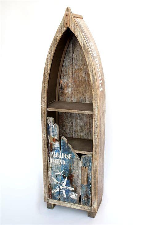 badezimmer regal maritim regal boot schrank bootsform holz antik mr16 maritim
