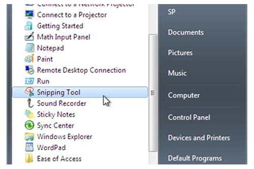snipping tool download for windows 7