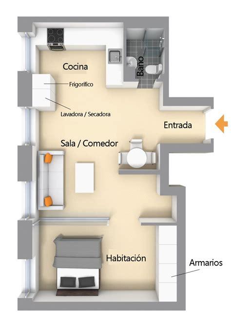 estudio apartamentos separar espacios   muro vidriado