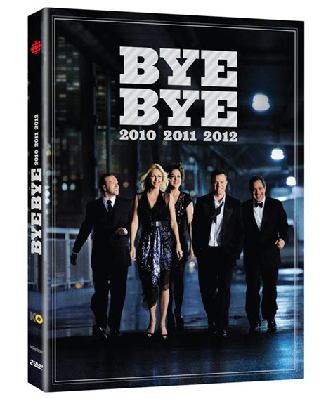 les bye bye 2010 à 2012 offerts en dvd et en ligne