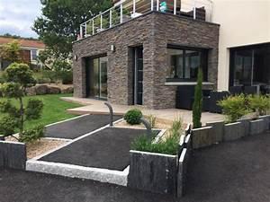 amenagement allee de jardin architecte paysagiste With allee d entree maison