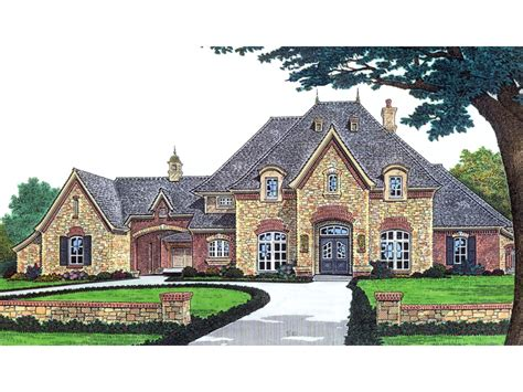 Stefano Luxury European Home Plan 036d-0156