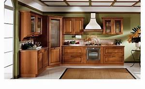 deco cuisine bois With decoration de cuisine en bois