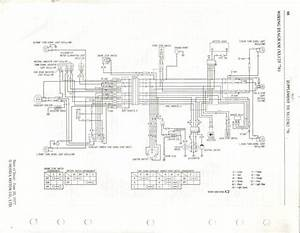 Honda Xl125 Ct125 Usa Wiring Diagram In 2020