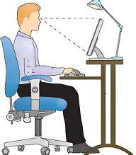bonne position au bureau bonne posture posture assise au travail