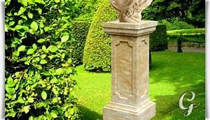 Deko Garten Stein : garten deko stein podest savona ~ Markanthonyermac.com Haus und Dekorationen