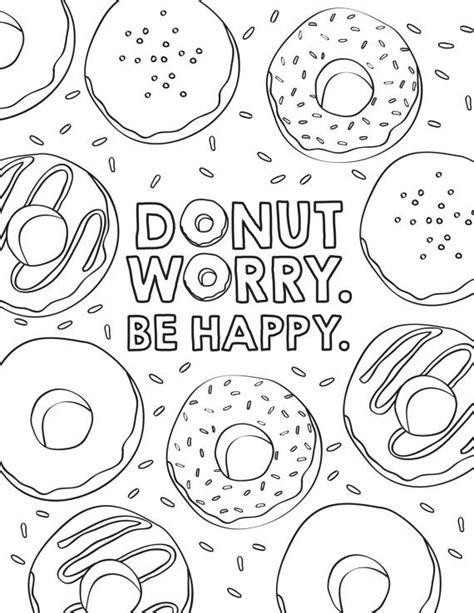 Donuts Kleurplaat Hapy Birthday by Donut Birthday Coloring Sheets Birthday