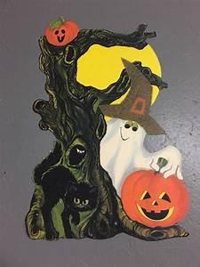 Vintage, Hallmark, Halloween, Decorations