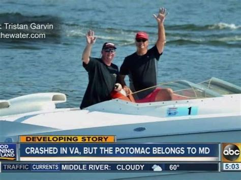 Potomac River Boat Crash by 2 Dead After Speedboat Crash On Potomac One News