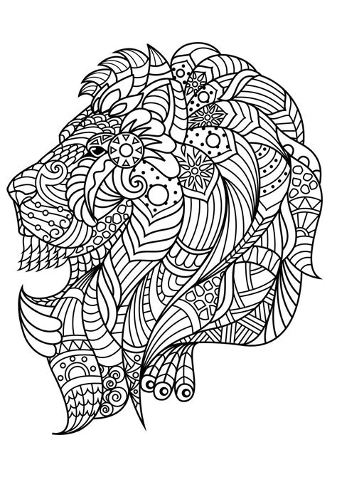 Animal coloring pagesLion coloring pages Animal