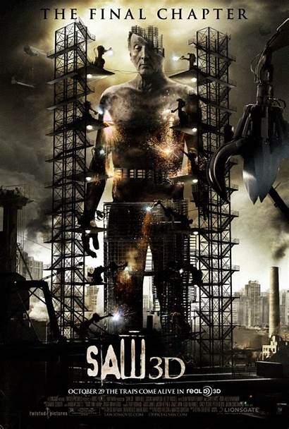 Saw Final 3d Poster Film Firstshowing Posters