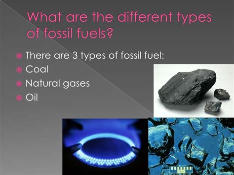 What Are The Three Main Fossil Fuels ?