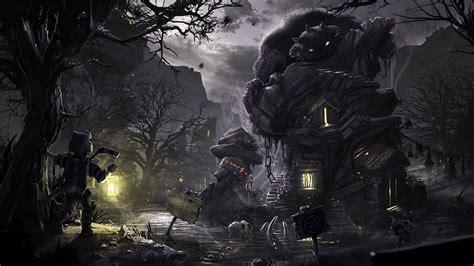 dark digital art artwork wallpaper