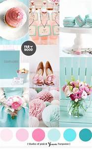 Turquoise Pink Wedding Colors   Pink wedding colors and ...