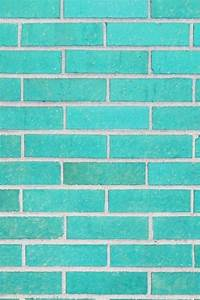 iPhone Background bricks aqua teal turquoise   Rectangular ...