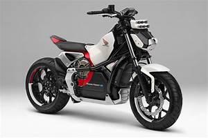 Honda Riding Assist e Debuts Concept Electric Motorcycle