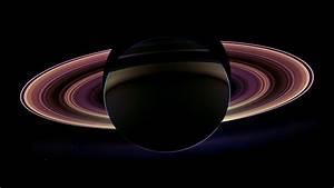 Cassini Saturn Eclipse HD Wallpaper - Pics about space