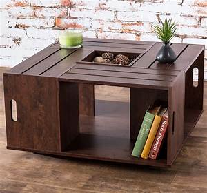 coffee table crate coffee table wine crate coffee table With wooden crate coffee table for sale