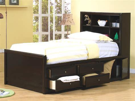 phoenix twin bed  underbed storage