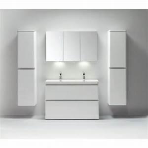 Pied Pour Meuble Salle De Bain : projet pour impressionnant meuble de salle de bain avec ~ Dailycaller-alerts.com Idées de Décoration