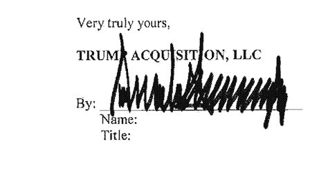 trump signed  letter  intent   trump tower moscow