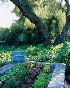 Raised Stone Vegetable Garden Beds