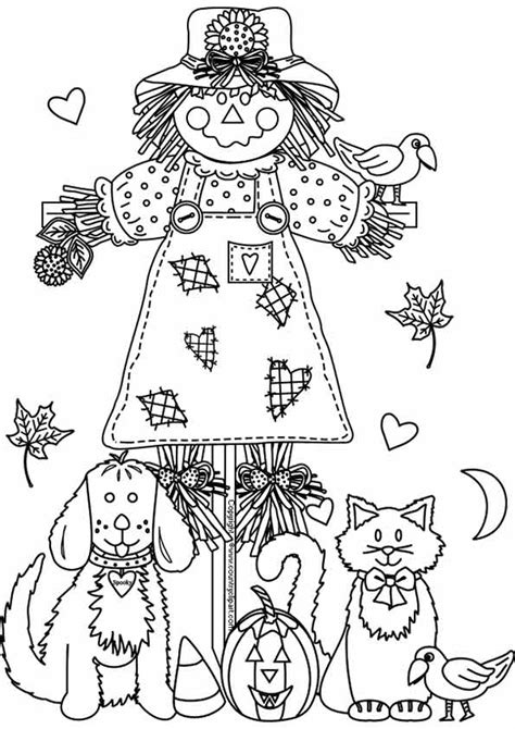 free printable fall coloring pages for best 928 | fall pictures to color