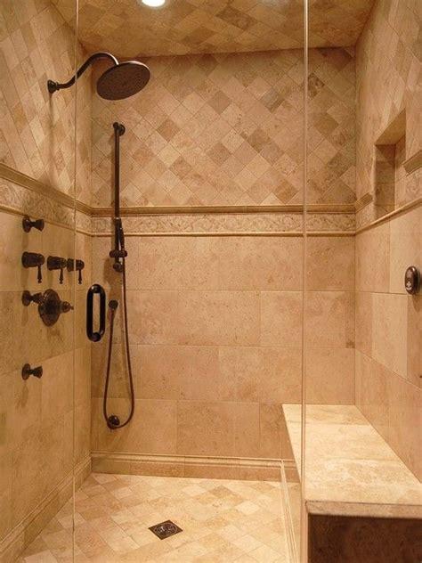 17 best ideas about travertine shower on