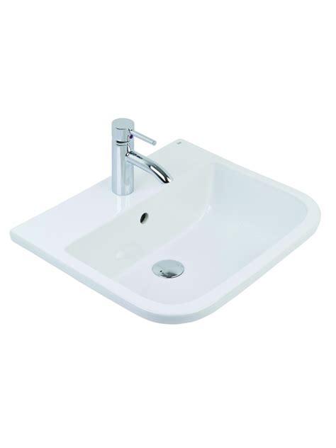 countertop washbasin rak series  inset vanity basin cm