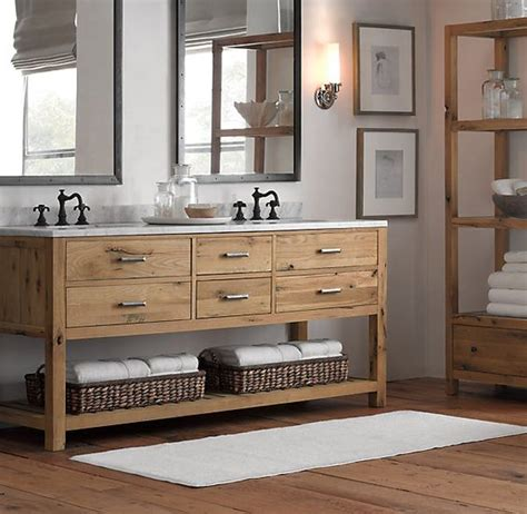 rustic bathroom vanity 34 rustic bathroom vanities and cabinets for a cozy touch Modern