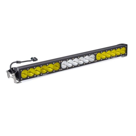 onx6 dual 30 quot white led light bar baja