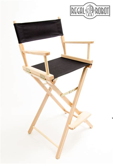 Bar Height Folding Directors Chair by 30 Quot Bar Height Directors Chair Regal Robot
