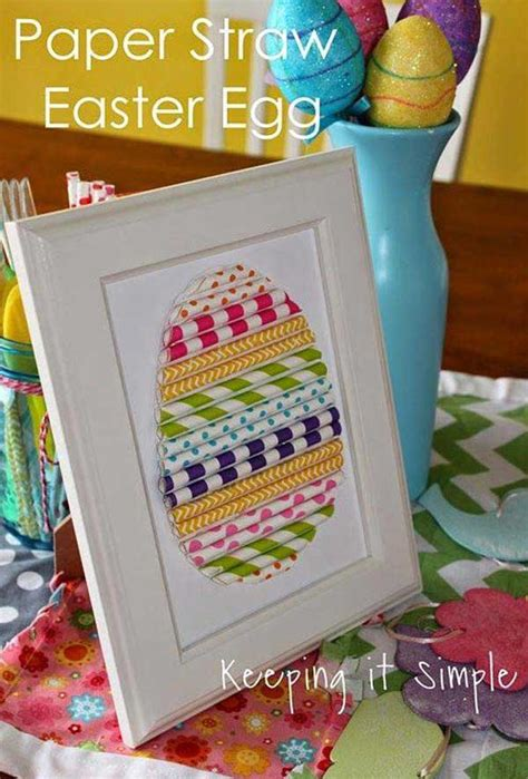 cool  easy diy easter crafts  brighten  home