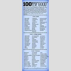 "100 Ways To Say ""good"""