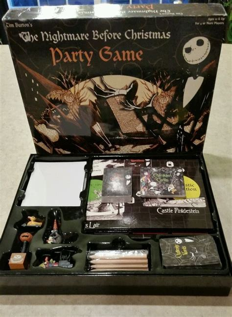 tim burton the nightmare before all pieces included - Nightmare Before Christmas Party Game