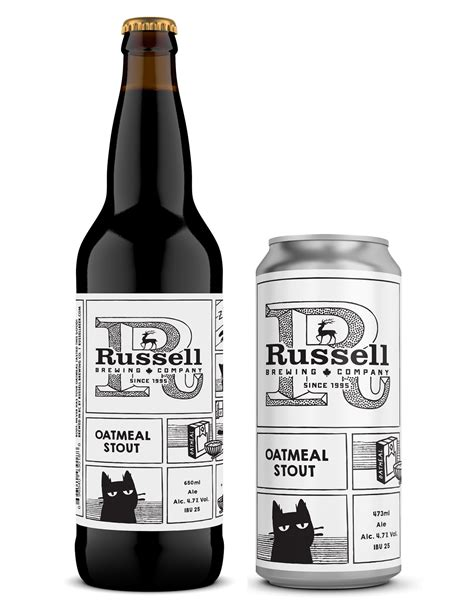 At this time of year, i love to have a nice stout or porter on tap. NEW BEER - OATMEAL STOUT | Russell Brewing Company