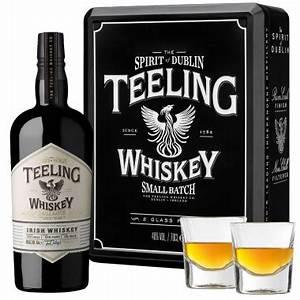 Coffret Verre Whisky : coffret teeling whiskey 70cl 46 2 verres ~ Teatrodelosmanantiales.com Idées de Décoration