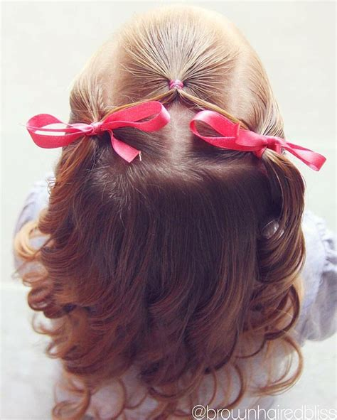 super cute and easy half up toddler style love how the