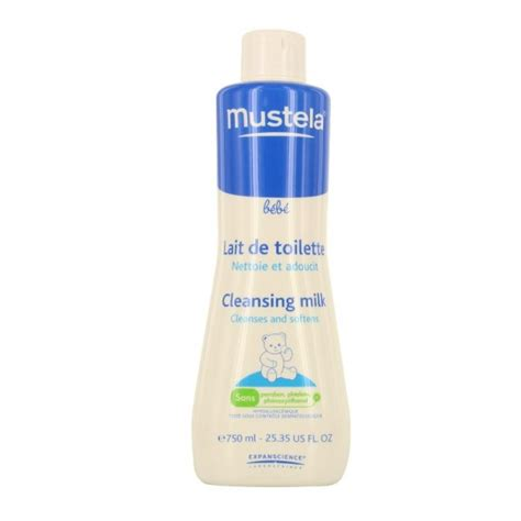 must 233 la lait de toilette 750ml
