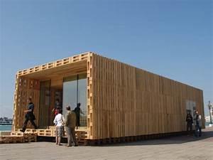 espace ilyatoo With maison en palettes de bois