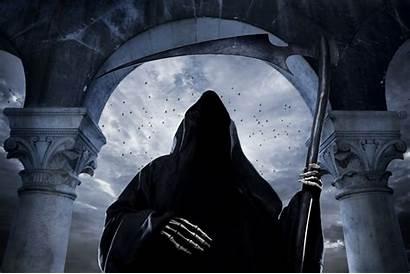 Reaper Grim Death Ink Wash Paintings Mocah